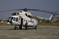 Helicopter-DataBase Photo ID:7265 Mi-17-1V Angolan Air Force H-624