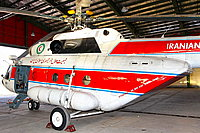 Helicopter-DataBase Photo ID:5146 Mi-17-V5 Iranian Red Crescent Air Rescue 6-9506 cn:364M01