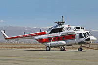 Helicopter-DataBase Photo ID:17110 Mi-171E Iranian Red Crescent Air Rescue 6-9513 cn:171E00364073505U