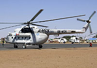 Helicopter-DataBase Photo ID:5902 Mi-8MTV AMIS - African Union Mission in Sudan ER-MGH cn:93507