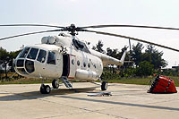 Helicopter-DataBase Photo ID:16661 Mi-17 AimAir ER-MHV cn:103M13
