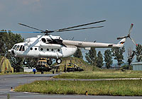 Helicopter-DataBase Photo ID:4908 Mi-8MTV-1 Moldovan Air Force 02 black cn:95864