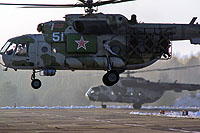 Helicopter-DataBase Photo ID:16024 Mi-8MTP Belarus Air and Air Defence Force 51 white