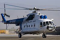 Helicopter-DataBase Photo ID:12351 Mi-8MTV-1 Tajik Air EY-25167 cn:95378