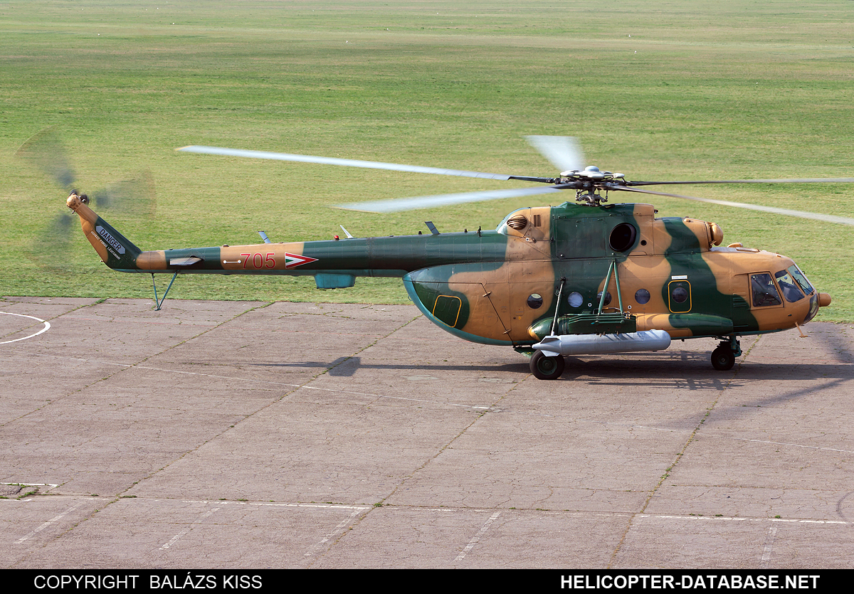 Mi-17 (upgrade by Hungarian AF)   705