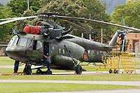Helicopter-DataBase Photo ID:9764 Mi-17-1Vmod Colombian Army Aviation EJC-3389 cn:170M15