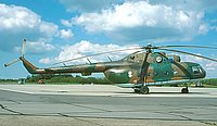 Helicopter-DataBase Photo ID:3968 Mi-8MTV-1 Lithuanian Air Force 01 blue cn:95911