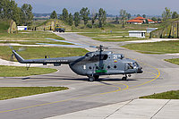 Helicopter-DataBase Photo ID:1614 Mi-8MTV-1 (upgrade by AviaBaltika 1) Lithuanian Air Force 21 white cn:95911