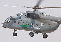 Helicopter-DataBase Photo ID:6159 Mi-8MTV-1 (upgrade by AviaBaltika 1) Lithuanian Air Force 21 white cn:95911