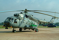 Helicopter-DataBase Photo ID:6161 Mi-8MTV-1 (upgrade by AviaBaltika 1) Lithuanian Air Force 21 white cn:95911
