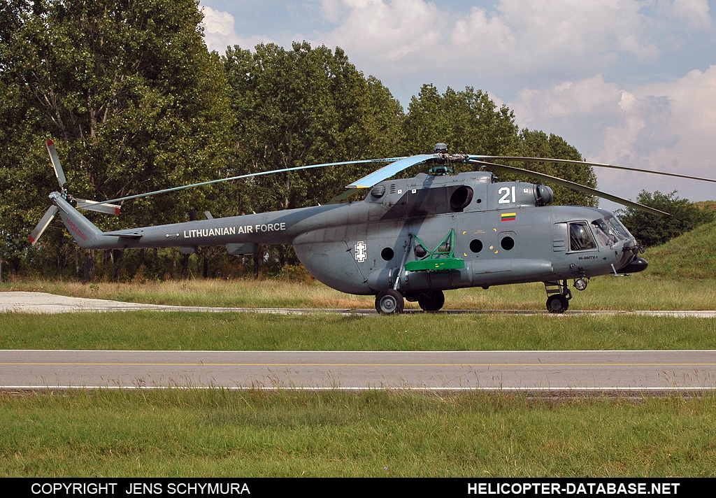 Mi-8MTV-1 (upgrade by AviaBaltika 1)   21 white