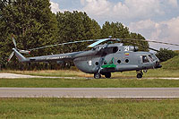 Helicopter-DataBase Photo ID:14391 Mi-8MTV-1 (upgrade by AviaBaltika 1) Lithuanian Air Force 21 white cn:95911