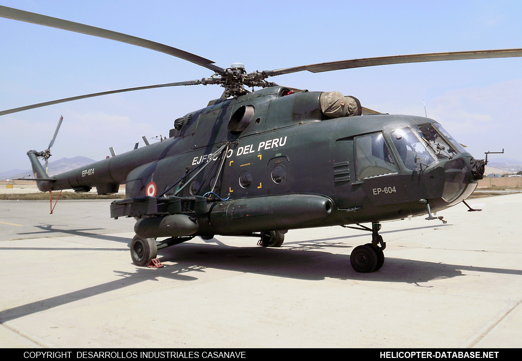Mi-17-1V (upgrade by Peru 1)   EP-604
