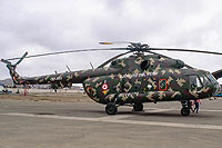 Helicopter-DataBase Photo ID:16568 Mi-8MTV-1 Peruvian Army EP-655 cn:96142