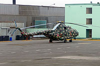 Helicopter-DataBase Photo ID:12742 Mi-171Sh-P Peruvian Army EP-667
