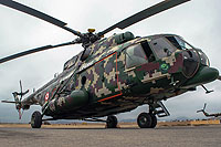 Helicopter-DataBase Photo ID:16573 Mi-171Sh-P Peruvian Army EP-673 cn:171S00604137447U