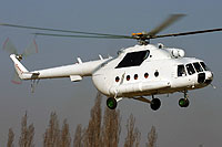 Helicopter-DataBase Photo ID:8152 Mi-17-1V (upgrade by LOM) LOM Praha s.p. 0811 cn:108M11