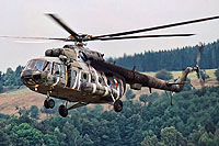 Helicopter-DataBase Photo ID:18233 Mi-17SOR (upgrade by LOM) 23rd Helicopter Base 0828 cn:108M28
