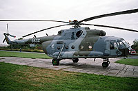 Helicopter-DataBase Photo ID:6058 Mi-17SOR (upgrade by LOM) 23rd Helicopter Base 0832 cn:108M32