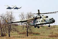Helicopter-DataBase Photo ID:279 Mi-17 23rd Helicopter Base 0833 cn:108M33