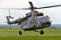 Helicopter-DataBase Photo ID:11766 Mi-17 (upgrade by LOM 2) 24th Transport Air Base 0834 cn:108M34