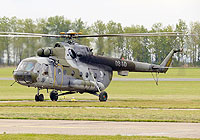 Helicopter-DataBase Photo ID:4013 Mi-17 23rd Helicopter Base 0840 cn:108M40