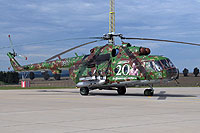 Helicopter-DataBase Photo ID:14387 Mi-17M (upgrade by LOTN) Air Base of Colonel General Ján Ambruš 0807 cn:108M07