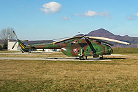 Helicopter-DataBase Photo ID:17250 Mi-17 ELINT (upgrade by LOT) Air Base of Colonel General Ján Ambruš 0824 cn:108M24