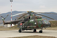 Helicopter-DataBase Photo ID:10714 Mi-17M (upgrade by LOT) Air Base of Colonel General Ján Ambruš 0846 cn:108M46