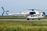 Helicopter-DataBase Photo ID:8759 Mi-8MTV-1 United Nations RA-22417 cn:96576