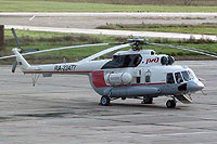 Helicopter-DataBase Photo ID:10542 Mi-171P Russian Railways RA-22477 cn:171P00643073108U