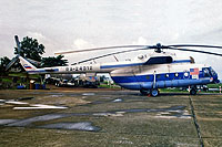 Helicopter-DataBase Photo ID:8681 Mi-8MTV-1 PAE Sierra Leone RA-24012 cn:95713