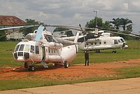 Helicopter-DataBase Photo ID:725 Mi-8MTV-1 United Nations RA-24030