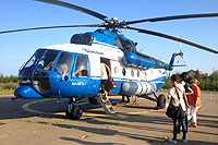 Helicopter-DataBase Photo ID:16341 Mi-8MTV-1 Taimyr RA-25101 cn:95717