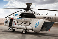 Helicopter-DataBase Photo ID:15805 Mi-8MTV-1 United Nations RA-25123 cn:95739