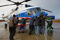 Helicopter-DataBase Photo ID:6784 Mi-8MTV-1 Arcticugol RA-25183 cn:95522