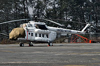 Helicopter-DataBase Photo ID:7842 Mi-8MTV-1 United Nations RA-25809 cn:96264