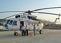 Helicopter-DataBase Photo ID:4918 Mi-8MTV-1 United Nations RA-27065 cn:95901