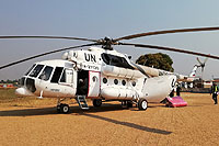 Helicopter-DataBase Photo ID:15848 Mi-8MTV-1 United Nations RA-27130 cn:95957