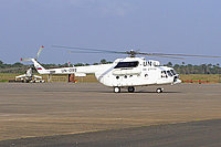 Helicopter-DataBase Photo ID:459 Mi-8MTV-1 United Nations RA-27172 cn:96111