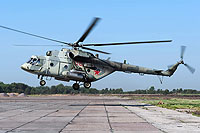 Helicopter-DataBase Photo ID:13031 Mi-8MTV-5-1 Russian Air Force 08 red cn:96796