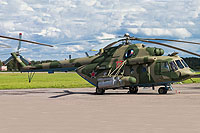 Helicopter-DataBase Photo ID:13456 Mi-8MTV-5-1 Russian Air Force 12 red