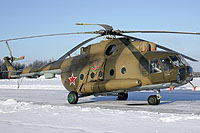 Helicopter-DataBase Photo ID:13219 Mi-8MT Russian Air Force 34 red