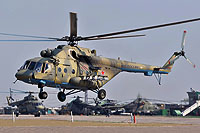 Helicopter-DataBase Photo ID:17893 Mi-8AMTSh Russian Air Force 40 red cn:8AMTS00643137320U