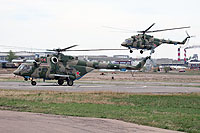 Helicopter-DataBase Photo ID:13541 Mi-8AMTSh Russian Air Force 44 red