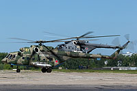Helicopter-DataBase Photo ID:15160 Mi-8AMTSh Russian Air Force 61 yellow cn:8AMTS00643167639U