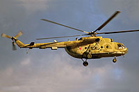 Helicopter-DataBase Photo ID:12970 Mi-8MT Russian Air Force 68 yellow