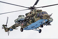 Helicopter-DataBase Photo ID:14006 Mi-8AMTSh-V Russian Air Force 7362 yellow cn:8AMTS00643147362U
