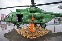 Helicopter-DataBase Photo ID:15120 Mi-17-V5 Russian Helicopters 742 black cn:96742