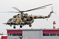 "Helicopter-DataBase Photo ID:14404 Mi-8AMTSh-V ""Bosfor-2"" Russian Air Force 7507 yellow cn:8AMTS00643147507U"